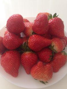 Frischer Erdbeeren
