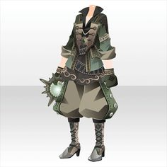 A green. Steampunk Clothing, Steampunk Outfits, Cocoppa Play, Samurai, Fictional Characters, Shopping, Fantasy Characters, Samurai Warrior