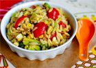 Grilled Corn Orzo Salad with Chili Lime Vinaigrette would like to try with whole wheat orzo or quinoa