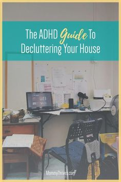 Decluttering Tips For ADHD Brains - Decluttering With ADHD - How To Declutter Your Home With ADHD I Have A Plan, How To Plan, Adhd Brain, Doing Laundry, Declutter Your Home, Business For Kids, Project Yourself, Decluttering, Getting Things Done