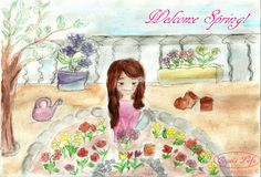 COQUI'S LIFE-Collection Moramontti's Illustrations - Welcome Spring!