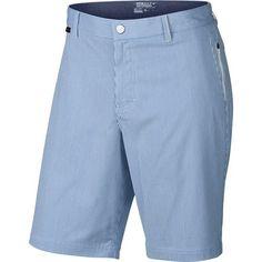 Nike Golf Modern Fit Seersucker Shorts - Photo Blue/White/Midnight Navy/Wolf Grey