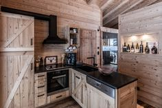 Kitchen Island, Kitchen Cabinets, Log Homes, House, Home Decor, Island Kitchen, Kitchen Cupboards, Homemade Home Decor, Log Houses