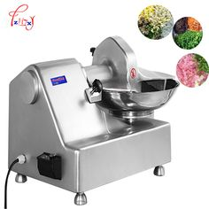 commercial meat vegetable cutter mixer grinder 8L multi-functional mixer meat grinder vegetable crusher 550W HLQ-8 #Affiliate