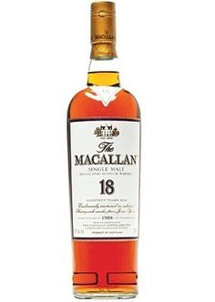 The MaCallan. Quite possibly my favourite.  Matured in Sherry casks as well sherry and bourbon and hence a slight hint of a sweet note.