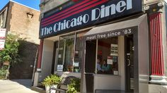 The Chicago Diner in Boystown