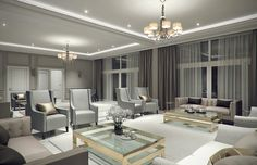 Designs apartmen interior decorating trends room color contemporary set images decor pictures wall furniture photos one classic country living plans chairs Modern Bedroom, Contemporary Interior Design, Trendy Living Rooms, Classic Interior Design, Luxury Home Decor, Luxury Living Room, Modern Classic Furniture, Interior Design, Modern Classic Interior