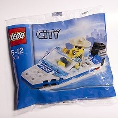 LEGO City Mini Figure Set 30017 Police Boat Bagged * For more information, visit image link. Outside Toys For Toddlers, Kids Toys For Boys, Lego Minecraft, Lego Lego, Little Boy Toys, Toddler Boy Toys, Best Lego Sets, Lego City Sets, Lego City Police