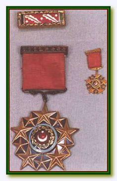 Türk Silahlı Kuvvetleri Şeref Madalyası / Turkish Armed Forces Medal of Honor Ottoman Empire, Badge, Cartoons, Objects, Military, Decorations, History, Holiday Decor, Badges