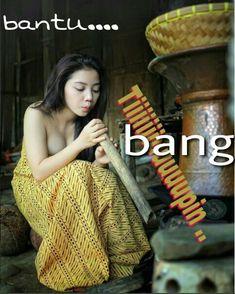BANG; BANTU TIUUUPIIN DONK, NICH LAGI MAU KUKUS NASI !!! NANTI MALAM NENG YANG GANTIIAN  NIUP SERULING ABANG