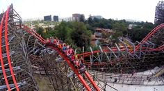 Awesome Medusa Steel Roller Coaster Promo Video POV Shots Six Flags Mexico
