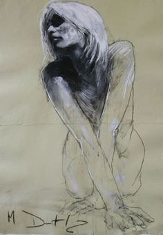 """Mark Demsteader Hand Signed and Numbered Limited Edition Giclee :"""" Suzanne II """" Artist: Mark Demsteader Title: Suzanne II Size: x Human Painting, Figure Painting, Figure Drawing, Painting & Drawing, Mark Demsteader, Life Drawing, Drawing Sketches, Art Nouveau Mucha, Pastel"""