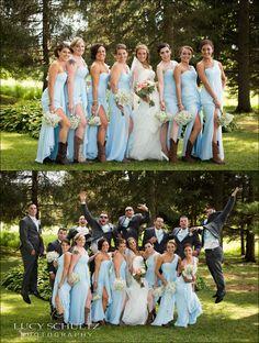 Fun Bridal Party Photos   Photobomb   Country Wedding Photographer   Lucy Schultz Photography