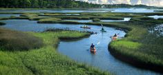 Barrier Island Beaches | 300 miles to paddle, swim and skim
