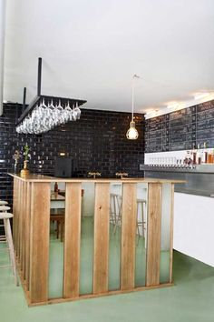 Small and Casual Bar Design in Denmark by Femmes Regionales