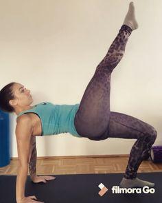 Exercise for glutes and hamstrings. Übung für Oberschenkelrückseite, kräftigt Po und Beine.