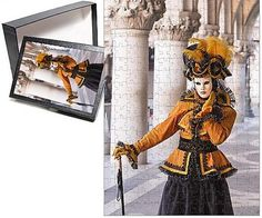 Photo Jigsaw Puzzle of People in masks and costumes, Carnival, Venice, Veneto, Italy, Europe Robert Harding http://www.amazon.com/dp/B012VO6G7I/ref=cm_sw_r_pi_dp_PDMOwb1Q55JAR