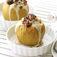 great dessert to wrap up your holiday meal, this Baked Apple with ...