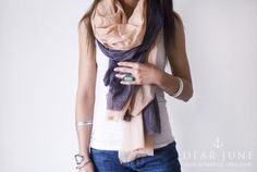 Summer scarves make me happy. I'd wear this in Paris. (Well, I'd wear this anywhere...)