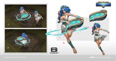 ArtStation - Boon sister-concept for Dungeon Hunter Champions, Xuexiang Zhang