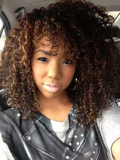 Kara // 3C Natural Hair Style Icon   Black Girl with Long Hair