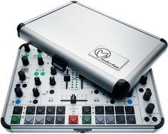 Faderfox DJ44: Full, Rugged Aluminum DJ Controller for Ableton, Traktor – in a Case