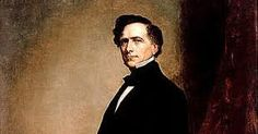 Pierce appealed to President James K. Polk to allow him to be an officer during the Mexican American War. Franklin was given the rank of Brigadier General even though he had never served in the military before. Mexican American War, American History, American Presidents, Us Presidents, Franklin Pierce, Bowdoin College, University Of Virginia, House Of Representatives, His Eyes
