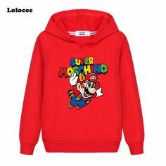Boys' Clothing Mother & Kids Enthusiastic Lolocee Boys T Shirt Skateboard Cat Design Kids Shirt Mario Tees Long Sleeve Cotton Tops Fashion Childrens Clothes Girl Tshirt