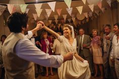 The first dance of the bride and groom from a French Rustic Country Wedding | Photography by http://www.pereymarga.com/