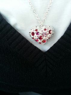 Wearing my #Heart of a Liar #Necklace out tonight.