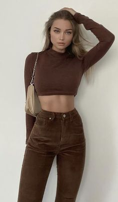 Mode Outfits, Retro Outfits, Cute Casual Outfits, Fall Outfits, Fashion Outfits, Mode Chic, Mode Style, Outfit Stile, Mode Ootd