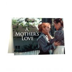 """Tell Mom how you feel this Mother's Day with an Anne of Green Gables and Avonlea inspired Card! This card features an iconic image of Anne and Marilla on the front and a memorable quote from the Avonlea Episode, """"A Mother's Love"""" inside."""