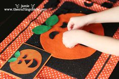 Great Halloween ideas, including a matching jack-o-lantern face game and one I hadn't heard of yet--Don't Eat Pete!  Fun activities for the kids!