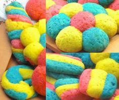 Il mio angolo nel mondo.: Biscotti arcobaleno.