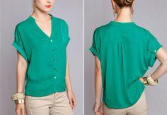 Emerald Green REBECCA Top - Kelly's Closet