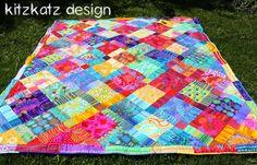 kitzkatz design: Kaffe Fassett Quilt