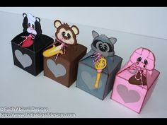 Faith Abigail Designs - Valentine's Day Critter Treat Boxes