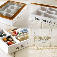 caja de madera pintada y decorada en decuopage con por CAMALEONGOGO, €25.00