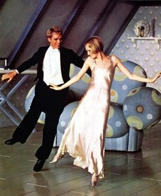 Christopher Gable and Twiggy in The Boy Friend, 1971