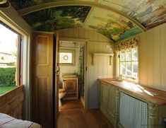 Roundhill Shepherd Huts; custom made spare room on wheels