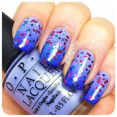 Gradient Nails  @kellytattoo