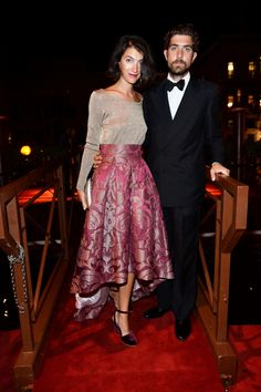 Marta Ferri and Carlo Borromeo at the Valentino Ball at Palazzo Volpi during the 70th Venice International Film Festival on September 4th 2013 in Venice