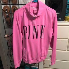 VS pink jacket Perfect condition. Size medium. PINK Victoria's Secret Jackets & Coats