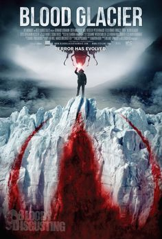 New Official Blood Glacier Poster