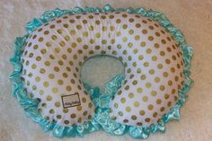 Gold Dot & Mint Boppy® Cover Ships Today by RitzyBabyOriginal