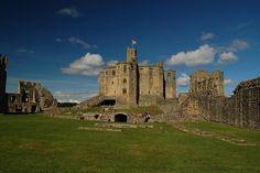 Castillo Warkworth (Inglaterra, Reino Unido)