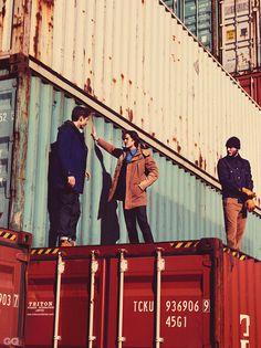 Serie mode GQ dockers au Havre