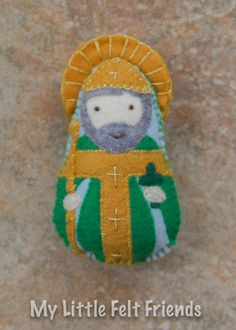 St peter felt saint doll catholic toys felt doll easter basket the listing only says 1 available because each item is made to order catholic giftsfelt negle Images