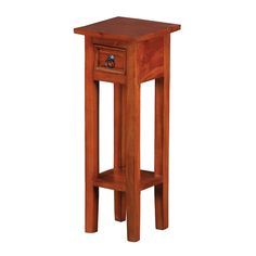 Sutter End Table With Espresso Finish by Sterling
