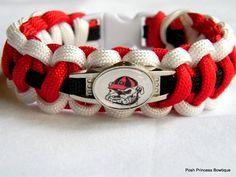 Georgia Bulldogs Survival bracelet  $15.00